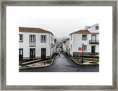 Municipality Of Ribeira Grande Framed Print