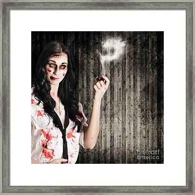 Murder Mystery Who Done It Framed Print by Jorgo Photography - Wall Art Gallery