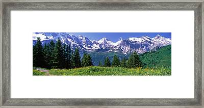 Murren Switzerland Framed Print by Panoramic Images