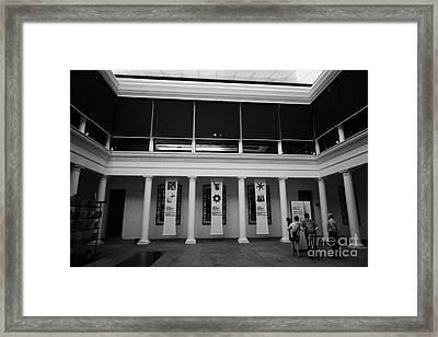 museo chileno de art precolombino pre columbian art museum Santiago Chile Framed Print by Joe Fox
