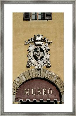 Museo Di S Maria Door Framed Print
