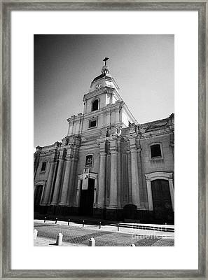 museo historico nacional national history museum chilean Santiago Chile Framed Print by Joe Fox