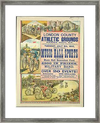 Music Hall Sports Framed Print