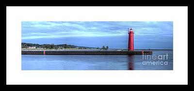 Muskegon Lighthouse Framed Prints