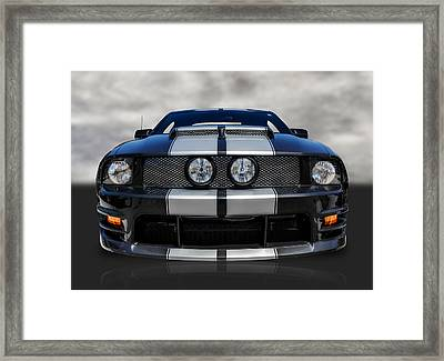 Ford Mustang Framed Print by Frank J Benz