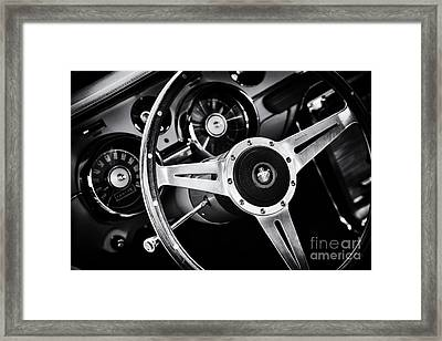 Mustang Interior  Framed Print by Tim Gainey