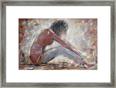 My New Red Shoes 190809 Framed Print