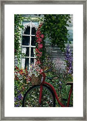 My Old Bike Framed Print by Steven Schultz