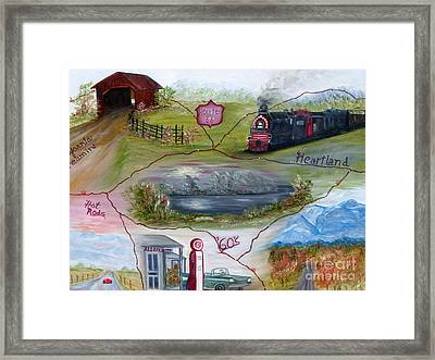 My Route 66 Framed Print