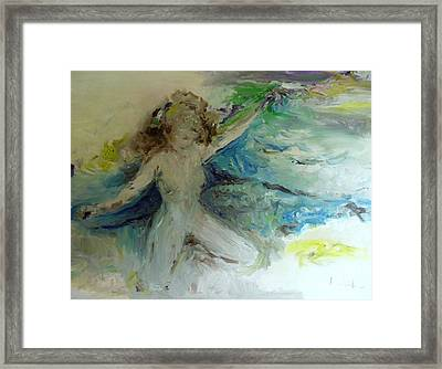 My Vagina Framed Print by Laurie L