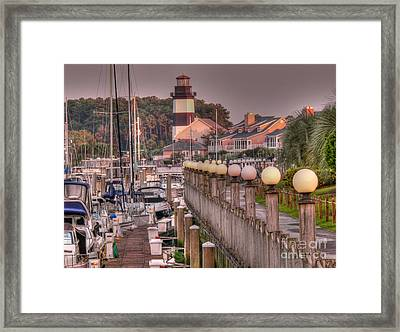 Myrtle Beach Lighthouse Framed Print