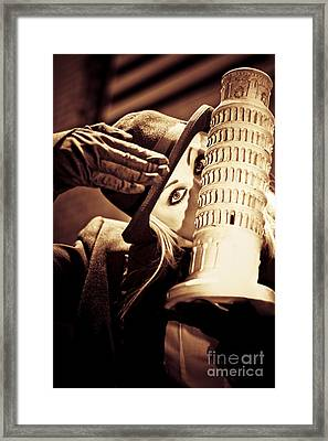Mysteries Of Italy Framed Print