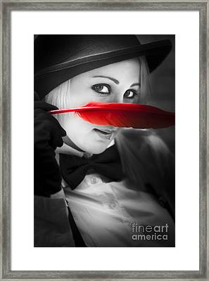 Mystery In Nature Framed Print