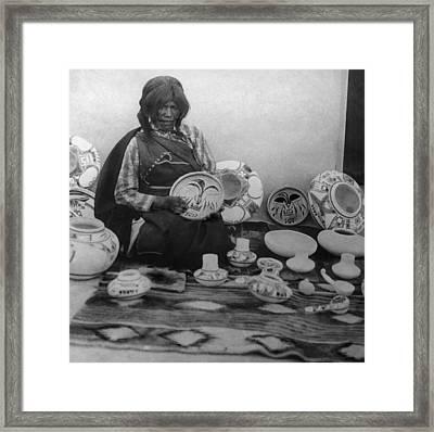 Nampeyo (1858-1942) Framed Print by Granger