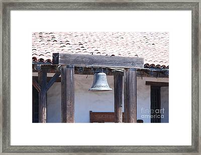 Framed Print featuring the photograph Napa Bell by George Mount