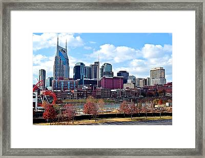 Nashville Tennessee Framed Print by Frozen in Time Fine Art Photography