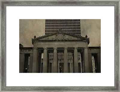 Nashville War Memorial Auditorium Framed Print by Dan Sproul