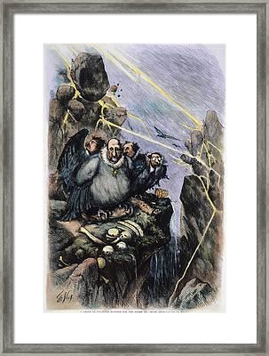 Nast Boss Tweed, 1871 Framed Print by Granger