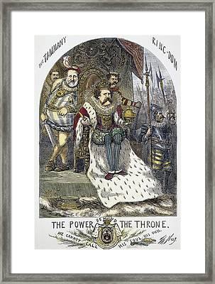 Nast Tweed Cartoon, 1870 Framed Print by Granger