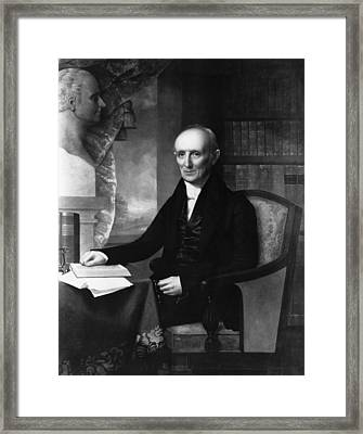 Nathaniel Bowditch Framed Print by Granger