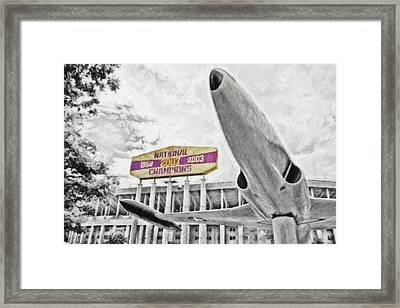 National Champions - Hdr Surreal Framed Print
