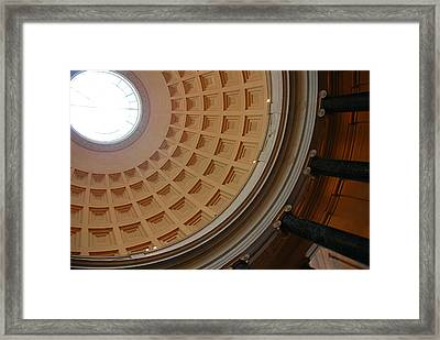 National Gallery Of Art Dome Framed Print