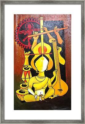 Natraj - Lord Of Dance Framed Print