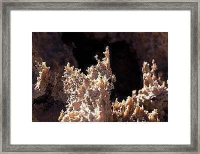 Natron Deposits Framed Print by Martin Rietze