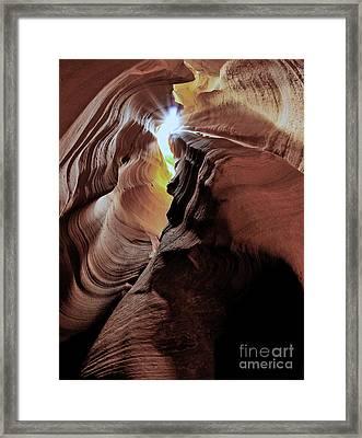 Natures Sculpture Framed Print by Jim Chamberlain