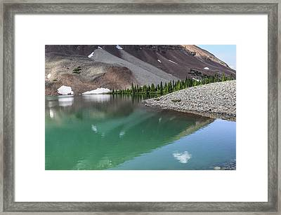 Navajo Lake Framed Print by Aaron Spong