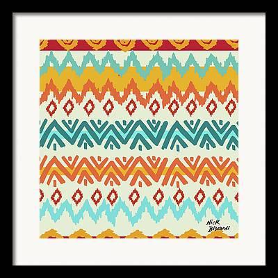 Tribes Digital Art Framed Prints