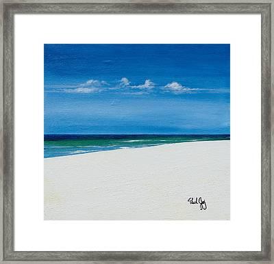 Navarre Beach Framed Print