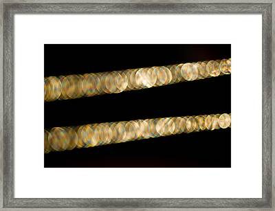Framed Print featuring the photograph Necklace Abstract by Crystal Hoeveler