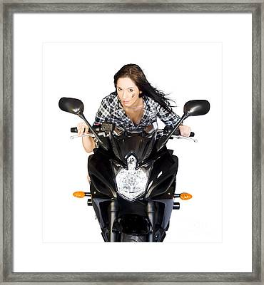 Need For Speed Framed Print by Jorgo Photography - Wall Art Gallery