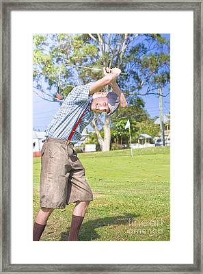 Need Golf Lessons Framed Print by Jorgo Photography - Wall Art Gallery