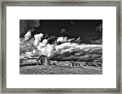 Nendrum Monastic Site Framed Print