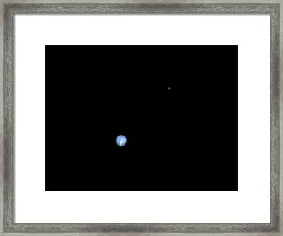 Neptune And Triton Framed Print by Damian Peach