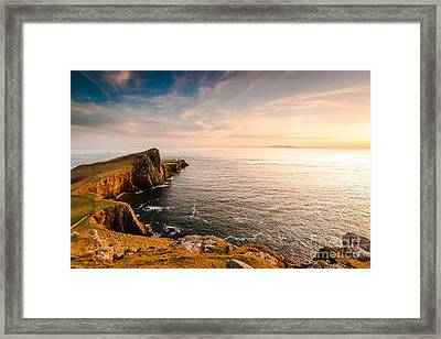 Nest Point Framed Print