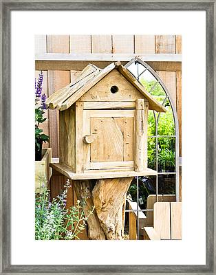 Nesting Box Framed Print by Tom Gowanlock