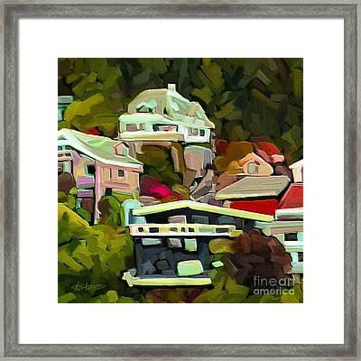 Nestled Framed Print by Dorinda K Skains