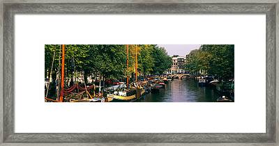 Netherlands, Amsterdam Framed Print by Panoramic Images