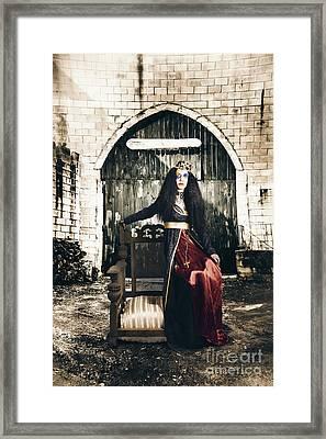 Netherworld Queen Stuck In Never Never Land Framed Print by Jorgo Photography - Wall Art Gallery