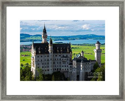 Neuschwanstein Castle - Bavaria - Germany Framed Print