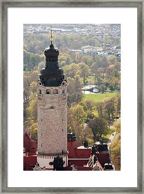 New City Hall Tower Viewed From Atop 30 Framed Print