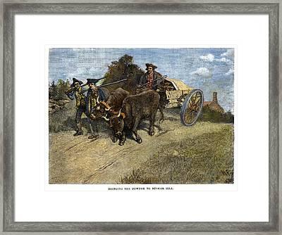 New Hampshire Minutemen Framed Print by Granger