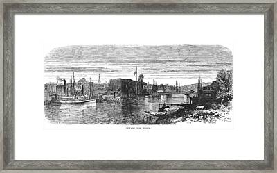 New Jersey Newark, 1876 Framed Print