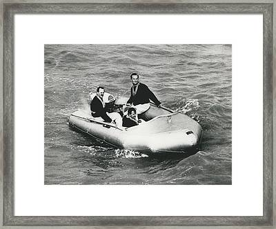 New Mini Lifeboats Show Their Paces Framed Print by Retro Images Archive
