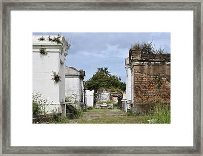 New Orleans Lafayette Cemetery Framed Print