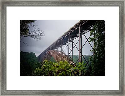 New River Bridge Framed Print