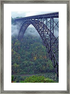 New River Gorge Bridge Framed Print by Thomas R Fletcher